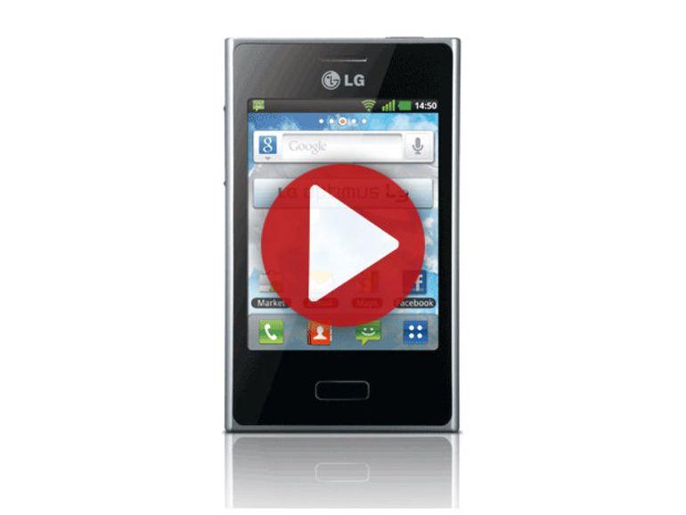 Démo du LG Optimus L3