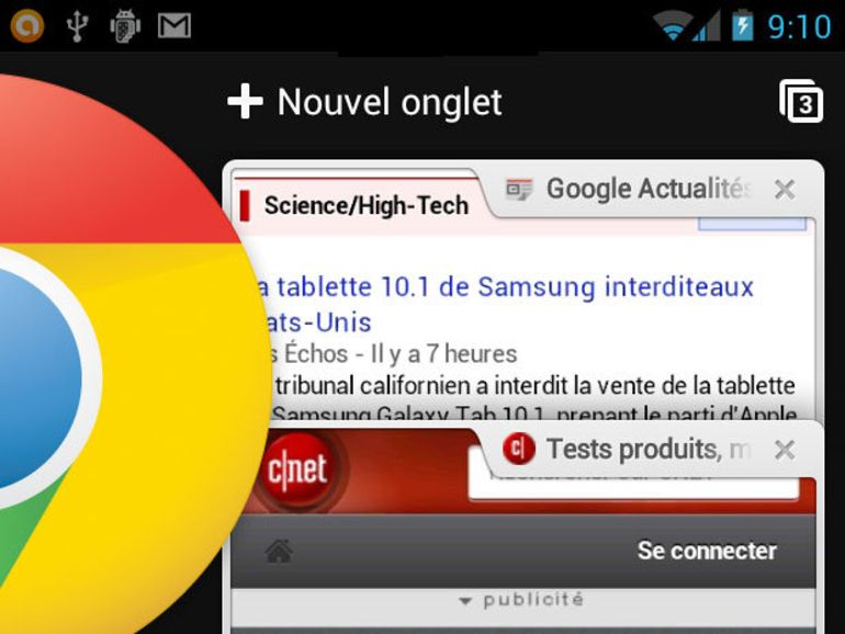 Chrome pour Android disponible en version finale