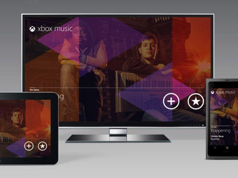 Microsoft : des détails sur Xbox Music