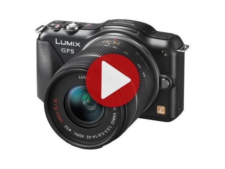 Démo du Panasonic Lumix GF5