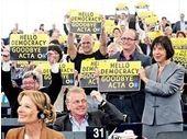 ACTA : le Parlement européen rejette le traité anti contrefaçon