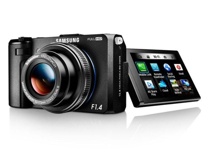 Samsung lance le EX2F : Wi-Fi et grande luminosité