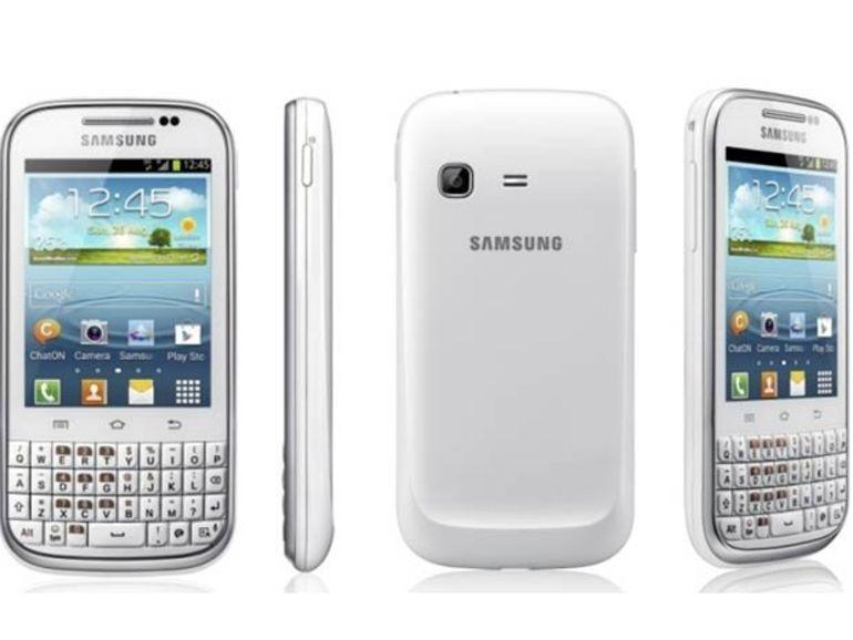 Samsung Galaxy Chat : écran tactile et clavier complet