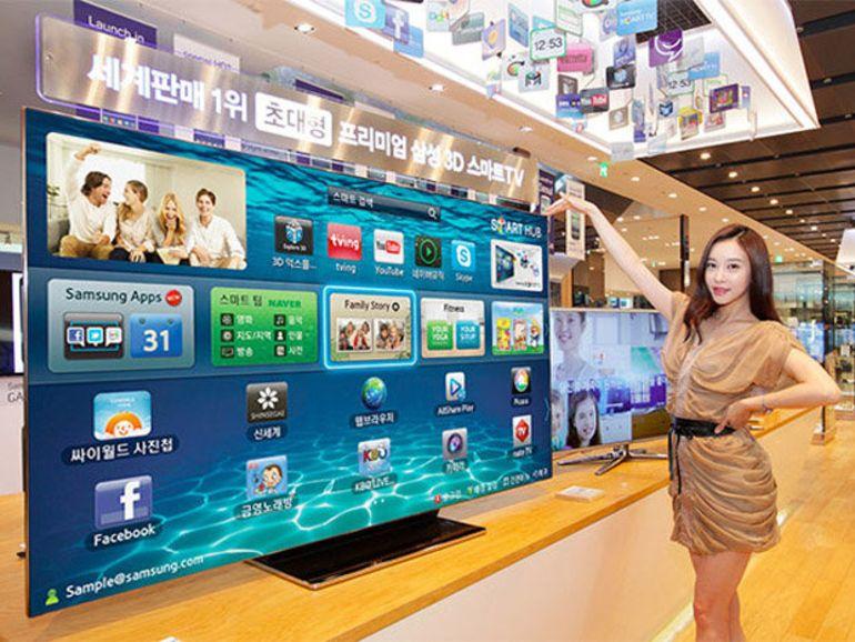 Samsung présente l'ES9000 en version 75 pouces (!)