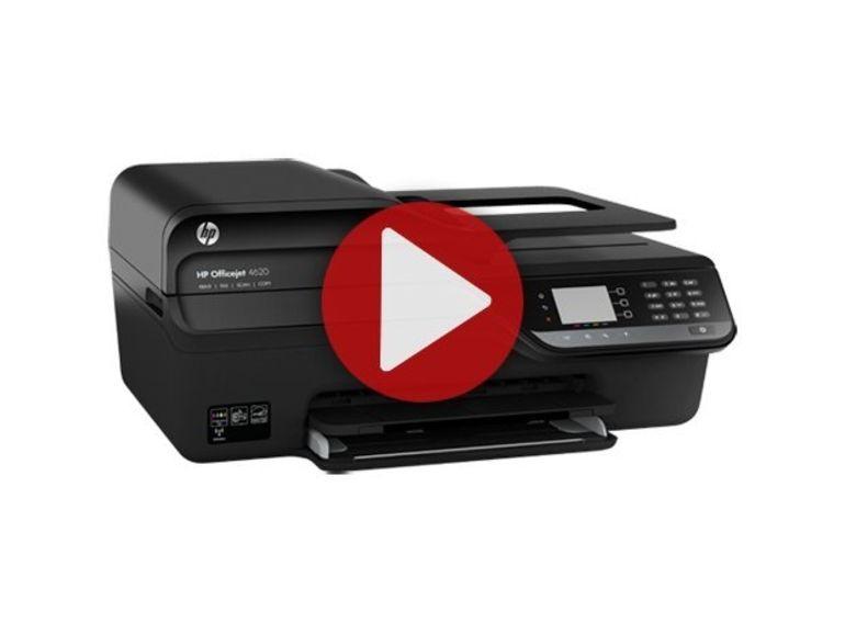 Démo de la HP Officejet Pro 4620