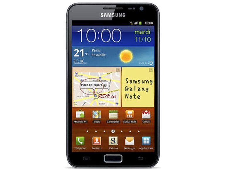 Le Galaxy Note 2 présenté à l'IFA?