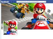 Un faux Mario Kart sévit sur Facebook