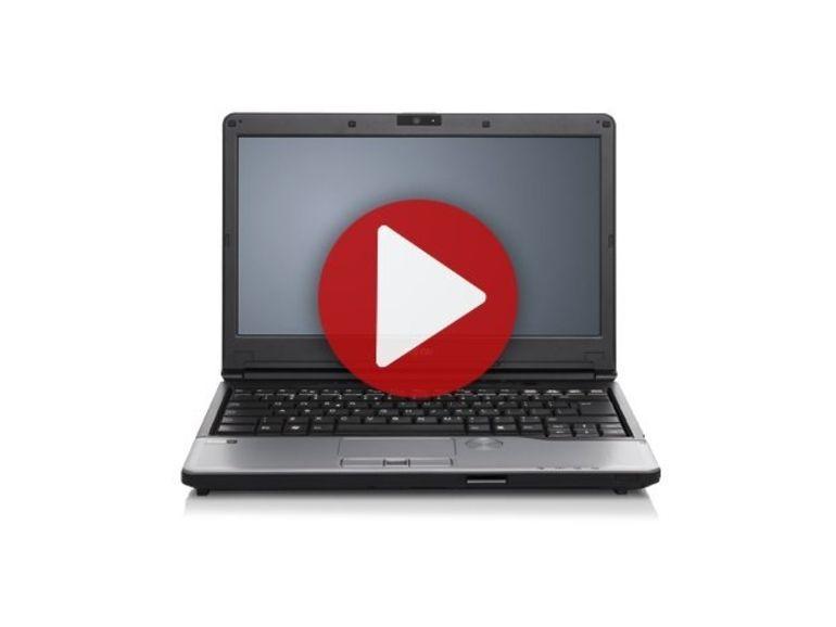 Démo du Fujitsu Lifebook S792