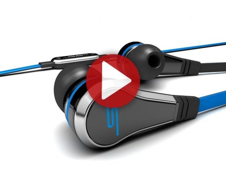 Démo des écouteurs SMS Audio STREET by 50 intra-auriculaires