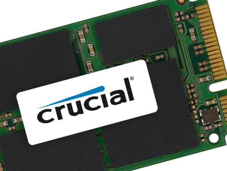 Crucial lance ses SSD mSATA pour Ultrabook