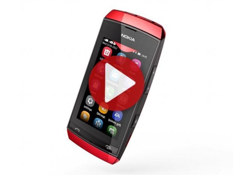 Démo du Nokia Asha 305