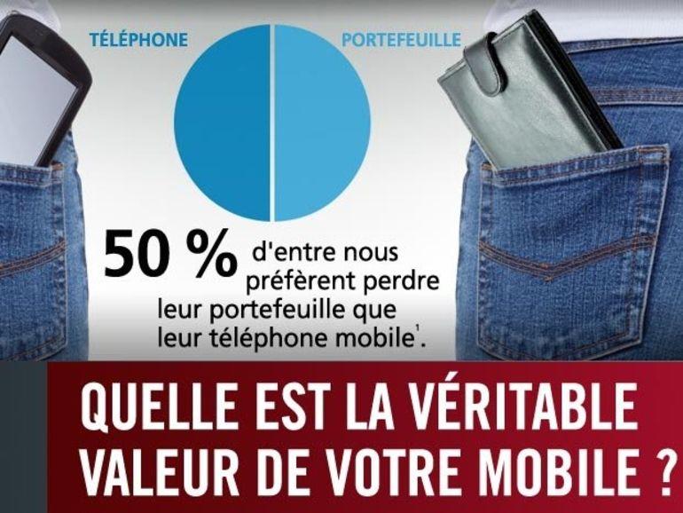 Perte d'un mobile : les conseils de MacAfee en image
