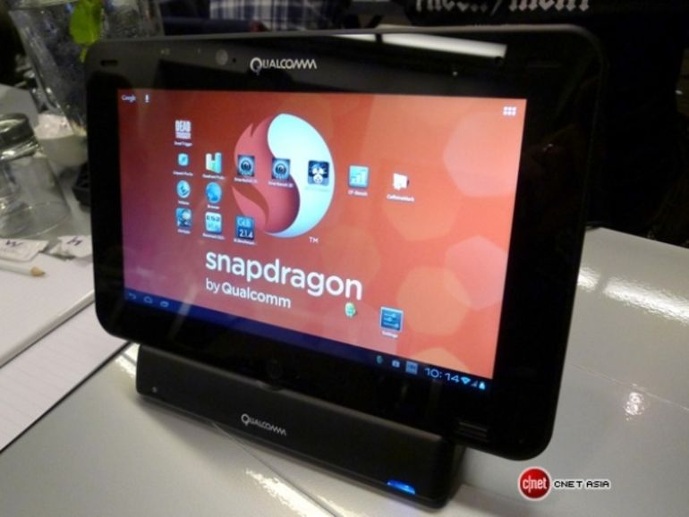 Qualcomm montre ses muscles avec une tablette quad-core