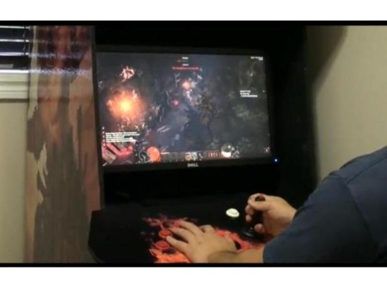 Diablo 3 se joue sur une borne d'arcade !