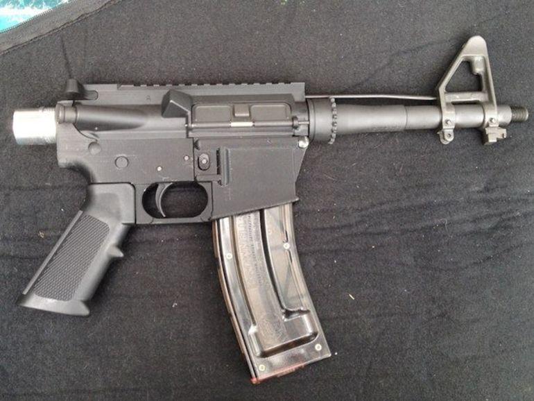 Une arme à feu créée grâce à une imprimante 3D