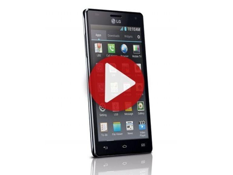 Démo du LG Optimus 4X HD
