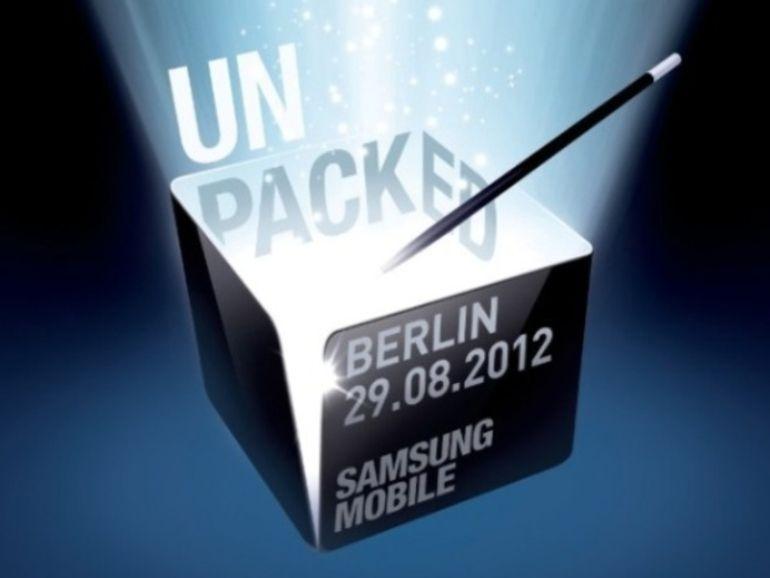 Le Galaxy Note 2 présenté le 29 août ?