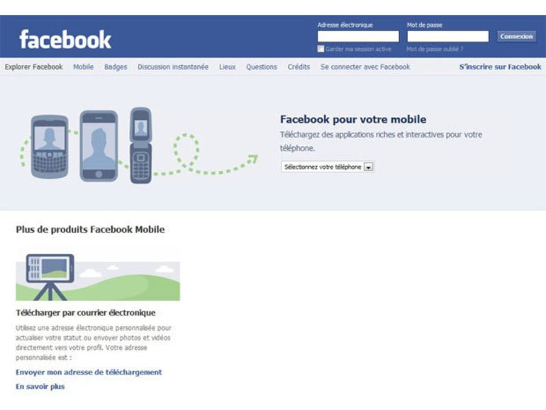 Facebook : bientôt de la pub dans son application mobile