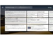 Bing sous Windows 8 adopte aussi l'interface à