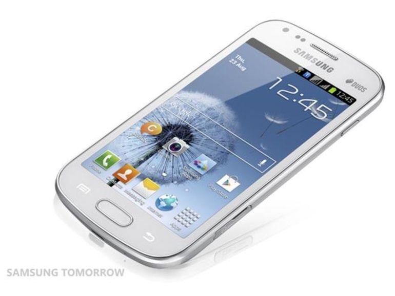 Le Samsung Galaxy S Duos disponible en septembre