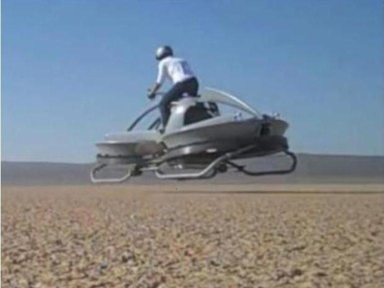 Un prototype fonctionnel de moto volante