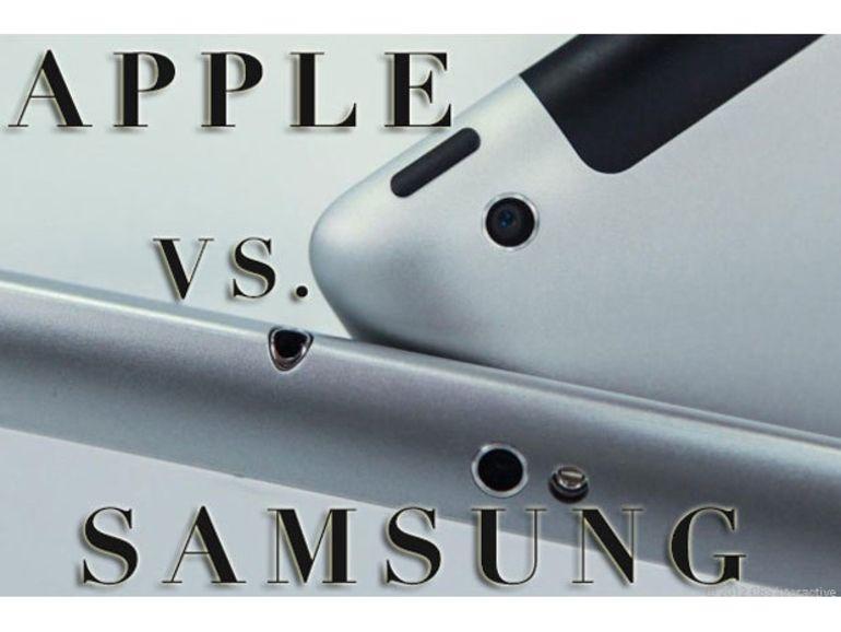 Brevets: Samsung condamné à verser 1,05 milliard de dollars de dommages à Apple