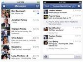 Mise à jour de Facebook Messenger pour iOS
