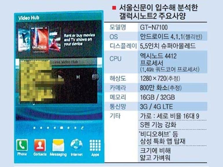 IFA 2012 : le Galaxy Note 2 se précise