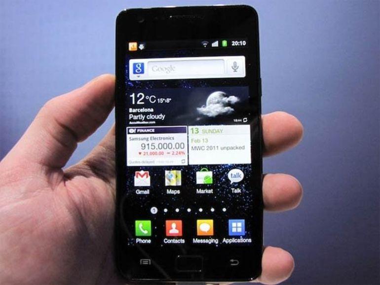 Les huit smartphones Samsung qu'Apple veut faire interdire aux USA