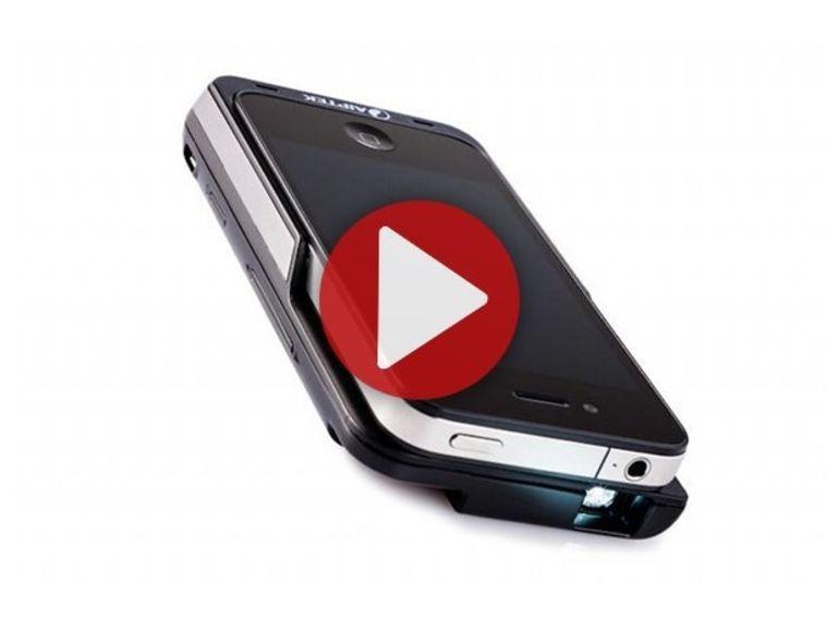 Démo du Aiptek MobileCinema i50S