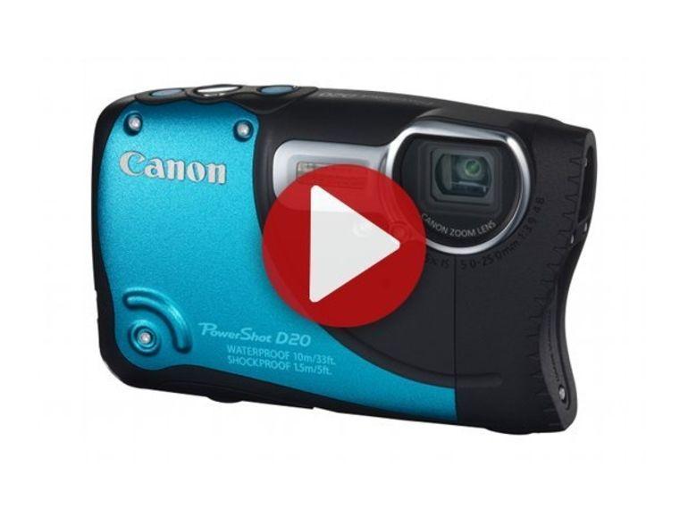Démo du Canon PowerShot D20