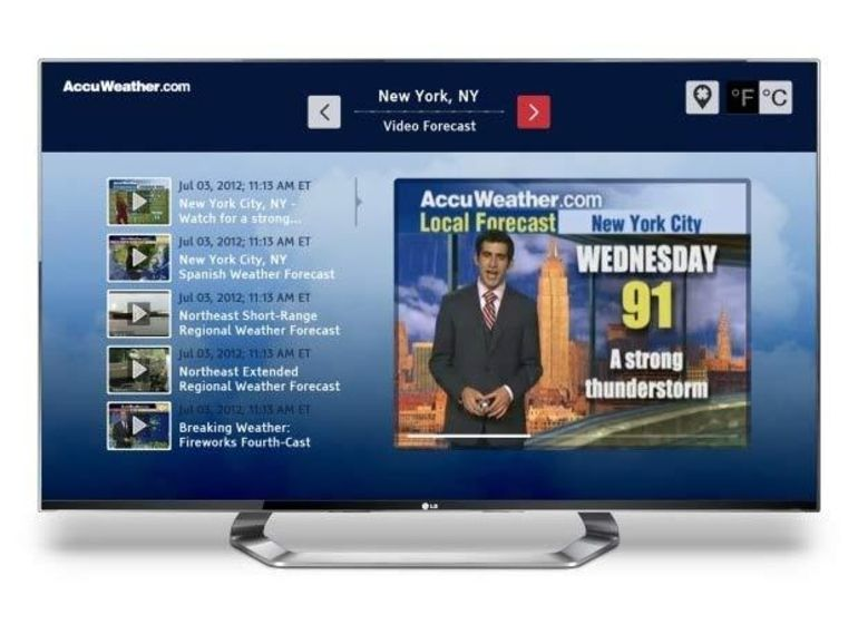 Smart TV Alliance : LG présente les premières applications à l'IFA