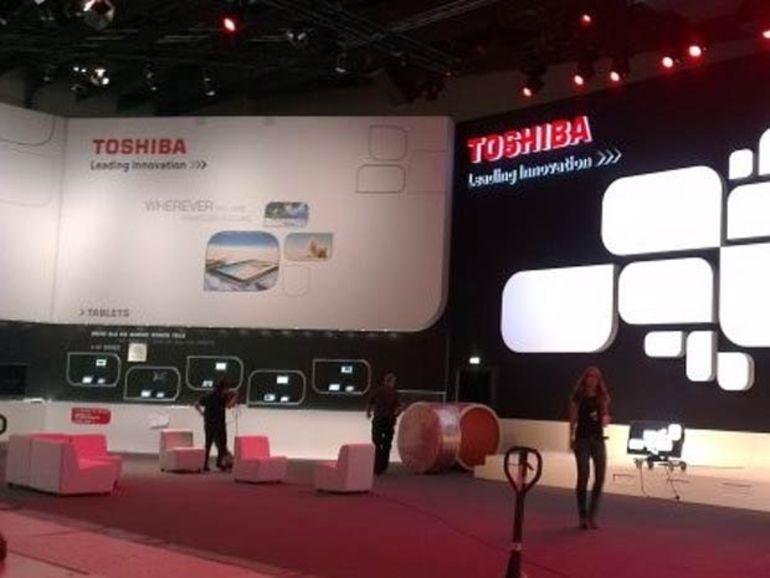 IFA 2012 : Toshiba présente ses nouvelles smart TV séries TL et RL