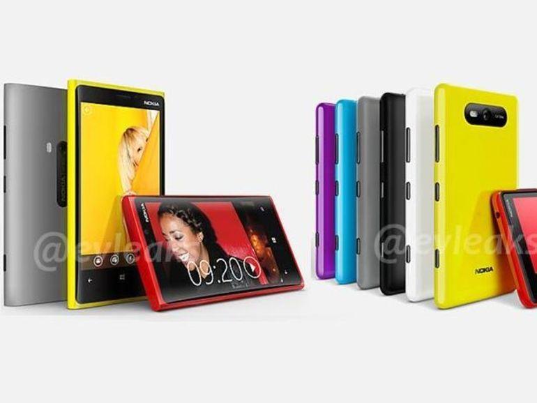 Premières images des Nokia Lumia 820 et 920 sous Windows Phone 8 ?