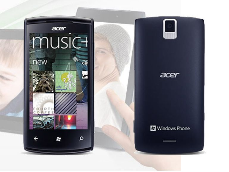 Acer lancera un Windows Phone et cinq smartphones Android en 2013