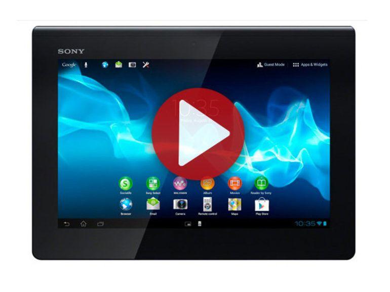 IFA 2012 : Sony Xperia Tablet S