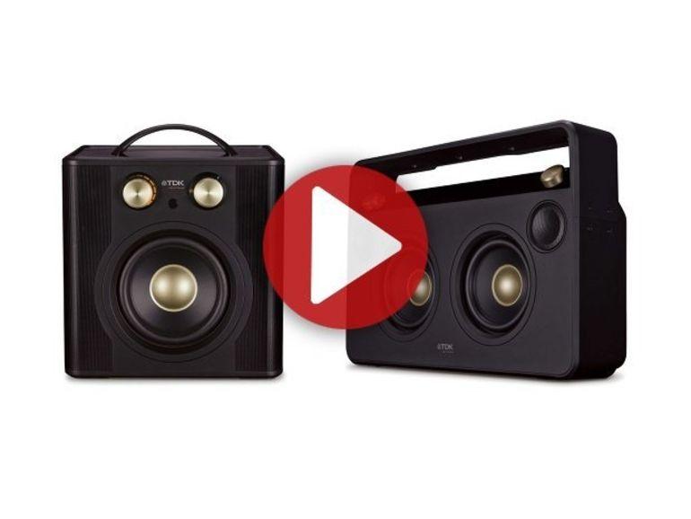 IFA 2012 : TDK Wireless Boombox et Sound Cube