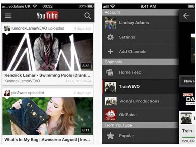 YouTube pour iOS 6 disponible en téléchargement