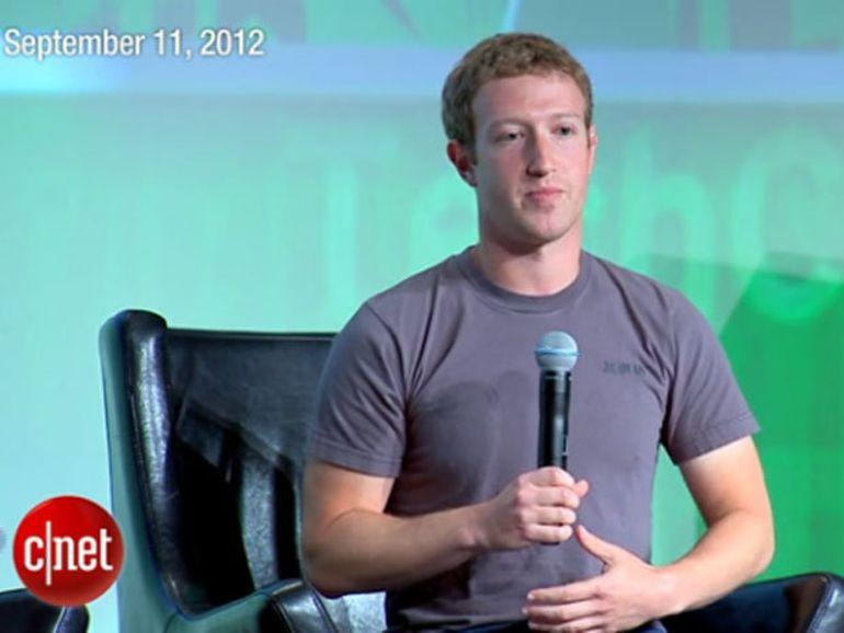 Mark Zuckerberg enterre le Facebook Phone