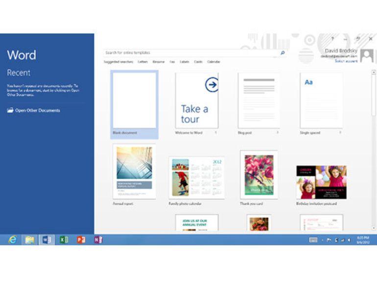 Office 2013 pour Windows RT : Microsoft révèle les détails