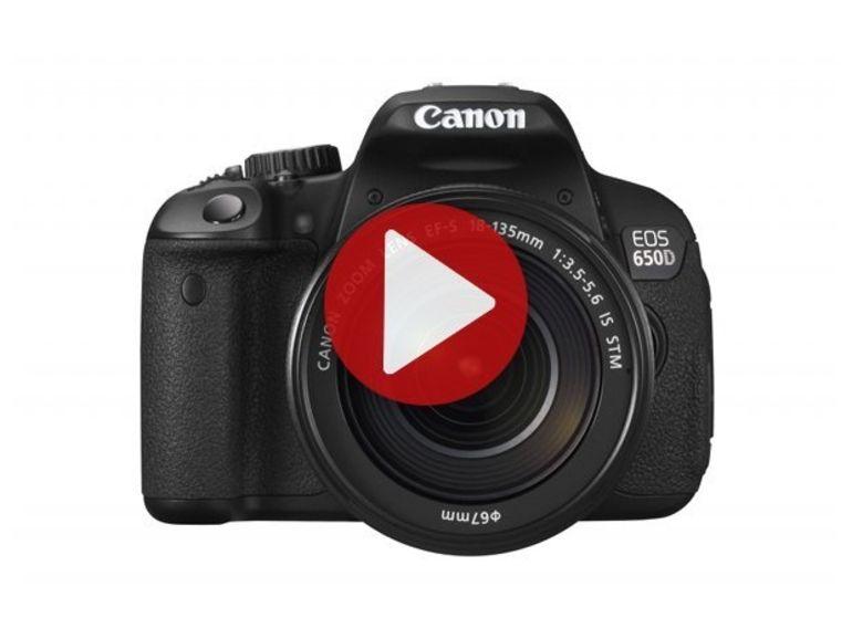 Démo du Canon EOS 650D