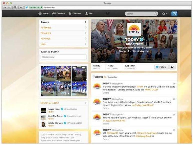 Twitter met à jour ses profils