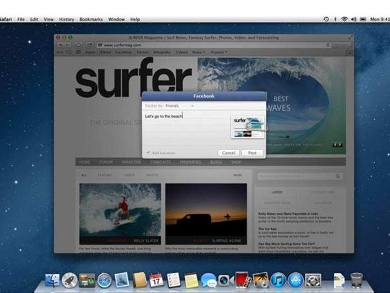 Mac OS X Moutain Lion passe en version 10.8.2