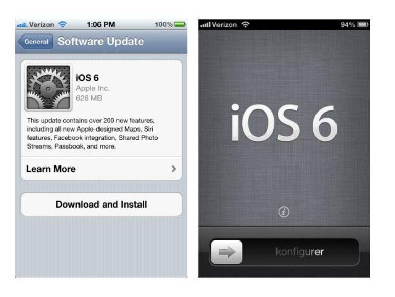 iOS 6 : pour quel iPhone, quelles nouveautés, quels intérêts ?