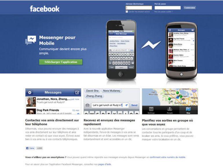 Facebook met à jour son Messenger pour Android et iOS 6