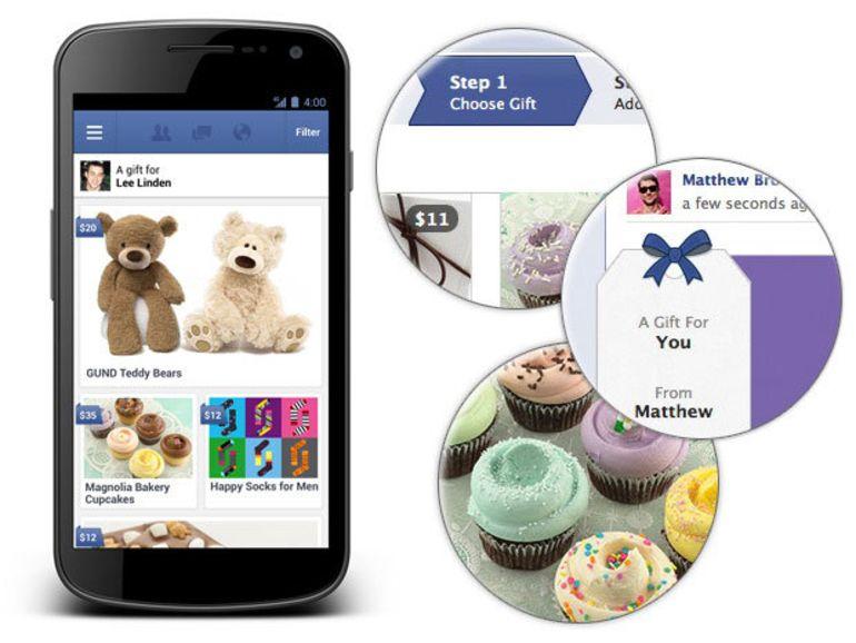 Facebook : des cadeaux réels pour ses amis virtuels
