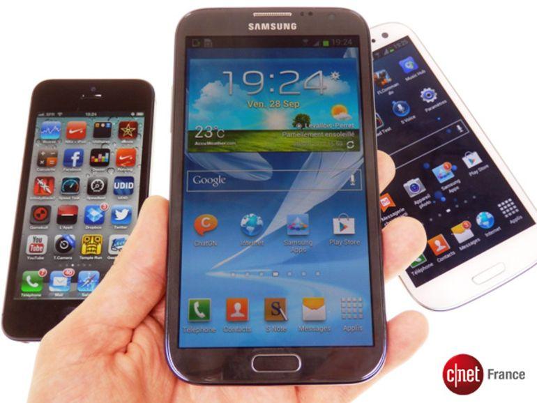 Samsung Galaxy Note 2 : prix, sortie et forfaits chez Orange, SFR, Bouygues et Virgin