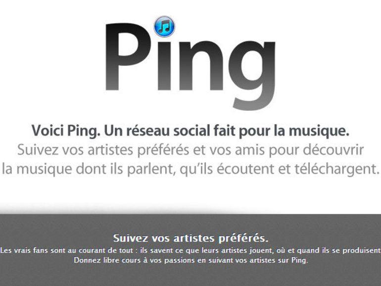 Ping : fermeture du réseau social musical d'Apple