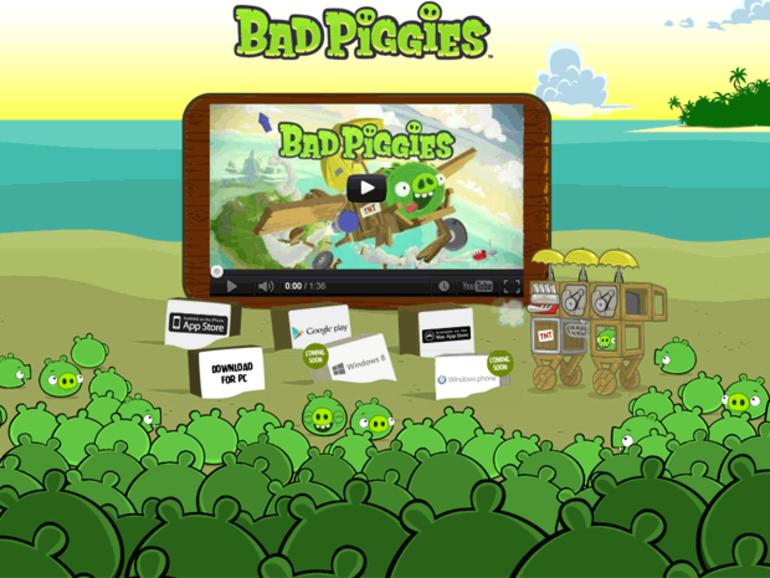 Bad Piggies : un faux jeu infecte le navigateur Chrome