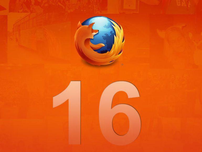 Firefox 16 : support VoiceOver Mac, Web App et optimisation Javascript